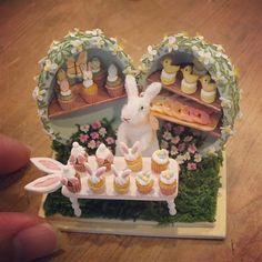 Miniature Cupcake Shop ♡ ♡ By pansbear