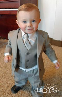 22fc89b4fabae James Morgan Infant Suit from CookiesKids.com. They have the most adorable boys  suits