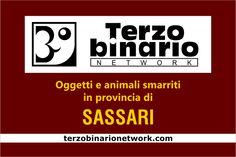 Oggetti e animali smarriti in provincia di Sassari
