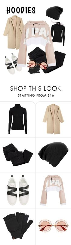 """Hoodie szn"" by webethebrownsugar ❤ liked on Polyvore featuring Topshop, Mara Hoffman, Avon, Valentino, Ivy Park, Keds, Gucci and Hoodies"