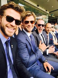 """hemsworth98: """"At the #AFLgrandtour with the... - Stef's Heaven"""