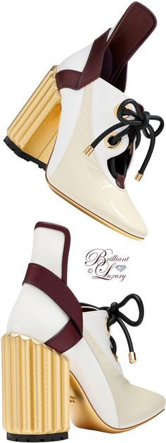 Brilliant Luxury by Emmy DE ♦ Dior Crinkled Lambskin Leather & Canvas Pump