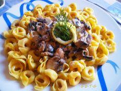 Το Ελληνικό Χρέος στη Γαστρονομία: Τορτελίνια με μανιτάρια και σάλτσα λεμονιού