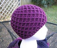 Ravelry: Diamond Ridges crochet hat pattern by Kristy Ashmore  Adorable!!