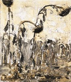 Anselm Kiefer sunflower painting