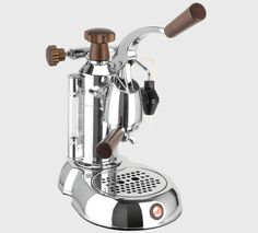 La Pavoni Stradivari Professional espresso and cappuccino machines - 16 cup, wood handle Cappuccino Maker, Espresso Maker, Espresso Cups, Cappuccino Coffee, Machine Expresso, Espresso Coffee Machine, Coffee Maker, Coffee Shops, Antonio Stradivari