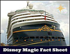 Disney Magic Fact Sheet - Disney Cruise Line