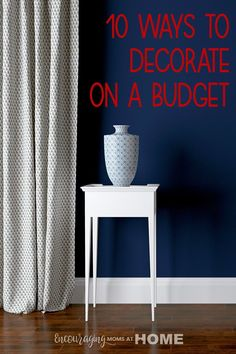 You can decorate and stick to a budget at the same time. This post has some great ideas for how to redo your entire home decor on a budget. Best Gifts For Mom, Best Mom, Indoor Paint, Free Shed, Cheap Kitchen Cabinets, Moving Boxes, Hardwood Furniture, Spring Projects, Budgeting Finances