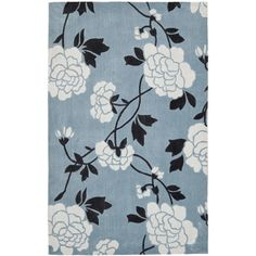You'll love the Chelsea Blue & Ivory Area Rug at Wayfair - Great Deals on all Décor  products with Free Shipping on most stuff, even the big stuff.