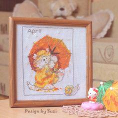 Margaret Sherry: Calendar Cats (April)