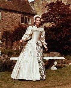 Anne of the Thousand Days (1969)  Anne Boleyn - White gown.