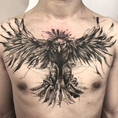 52 Best Tattoos Inspired by Classical Art and More for Handsome Mens tattoos inspired by art; tattoos inspired by books; tattoos inspired by movies; tattoos inspired by depression; tattoos inspired by history; tattoos inspired by nature Tattoos Masculinas, Bauch Tattoos, Eagle Tattoos, Body Art Tattoos, Sleeve Tattoos, Cool Tattoos, Tatoos, Future Tattoos, Tattoos For Guys