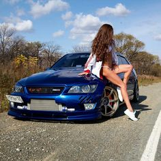 Lexus Cars, Jdm Cars, Bmw Girl, Lexus Is300, Motor Engine, Car Girls, Photoshoot Inspiration, Sexy Hot Girls, Cars And Motorcycles
