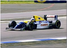 1993 - Alain Prost, Williams-Renault FW15. The most technically advanced F1 car ever.