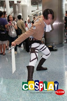 Rivaille Cosplay From Attack On Titan In Anime Expo 2013 US