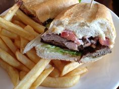 Argentina Cafe Houston, TX  Lomito Sandwich (Filet Mignon Sandwich)  http://www.theargentinacafe.com/