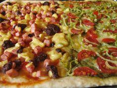 Pesto Pizza  www.menu-ideas.com