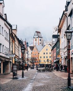 Colorful town of #Füssen #Bavaria