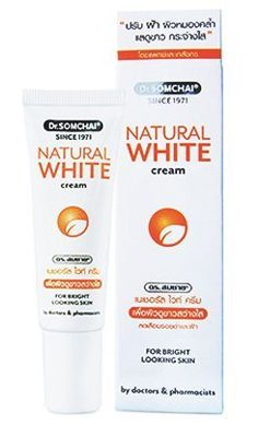 Dr. Somchai Active Skin Lightening Natural White Cream with Aha & Bha 15 G. Best Product From Thailand by Thailand shopping. $45.00. DR. SOMCHAI ACTIVE SKIN LIGHTENING NATURAL WHITE CREAM WITH AHA & BHA 15 G.  Best Product From Thailand. Brand: Dr. Somchai  Type: Natural White Cream  Product features:       For over 30 years, our tem of doctor & Pharmacists have been helping people with their every day skin concerns. today, we still continue to develope high-quality skin ...