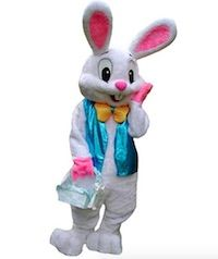 Halloween Easter Bunny Rabbit Mascot Costume Suits Adult Outfit Cosplay Dress US Costume Lapin, Rabbit Costume, Rabbit Halloween, Halloween Fancy Dress, Biker Halloween, Girl Halloween, Costume Halloween, Mascot Costumes, Adult Costumes