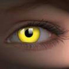 Mellaphean's left eye was like sunlight shimmering gold.