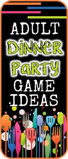 Top Adult Dinner Party Games to Liven Up Your Next Dinner Party! Top Adult Dinner Party Games to Liven Up Your Next Dinner Party! Dinner Party Games For Adults, Home Party Games, Birthday Games For Adults, Dinner Games, Holiday Party Games, Halloween Party Games, Adult Birthday Party, Party Activities, Fun Games For Adults