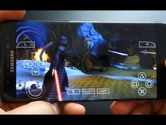 Note 7 - gameplay Star Wars Force Unleashed - PSP PPSSPP emulator - Andrasi.ro