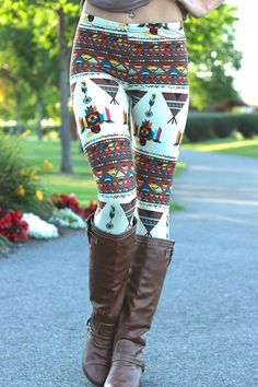 Leggings are pants! People that think leggings are pants are probably just mad they don't look good in them. Here 30 absolutely amazing leggings you need in your life. Aztec Leggings, Christmas Leggings, Winter Leggings, Knit Leggings, Cotton Leggings, Girls In Leggings, Pattern Leggings, Cheap Leggings, Black Leggings