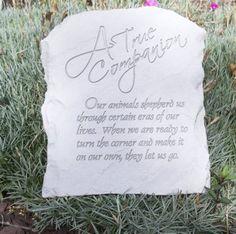 Pet Memorial Marker, Pet Memorial Stones