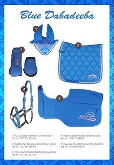 #horse #rider #horsefashion #equestrian #blue #saddlepad #tendonboots…