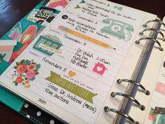 November Weekly - Simple Stories Carpe Diem Planner - Scrapbook.com