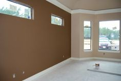 interior painting ideas | the modern home decor: the brown color in wall paint