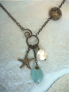 Beautiful jewelry handmade...I have purchased this necklace and an anklet...high quality and stunning (: #JewelryIdeas