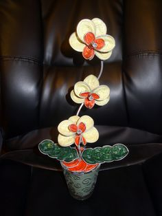 orchidées en capsules nespresso