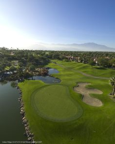 Hole 10 Arroyo course - Indian Ridge Country Club/Palm Desert