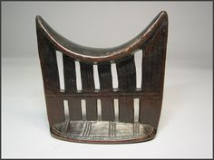 Kambatta headrest from Ethiopia - RAND AFRICAN ART