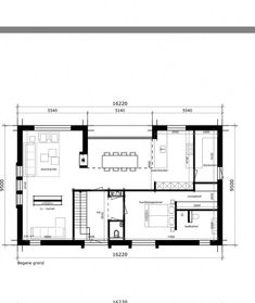 Home Interior Planning Projects. Would like to increase the charm and sale ability of the home? It's much easier and less costly than you may realise. Home Building Design, Home Design Plans, Plan Design, Building A House, House Design, Small House Floor Plans, New House Plans, Modern House Plans, Small Villa