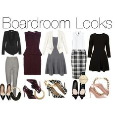 Time to build a career wardrobe because casual isn't cutting it? Dress for the next step up!