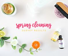 Helloooo everybody! I want to start out by giving many, many thanks to every last one of you who took the time to answer a few spring cleani...