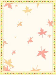 {free} Printable Autumn Leaves Stationery