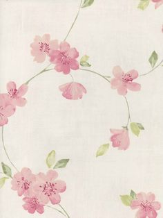 Interior Place - Pink Cherry Blossom Wallpaper, $33.03 (http://www.interiorplace.com/pink-cherry-blossom-wallpaper/)