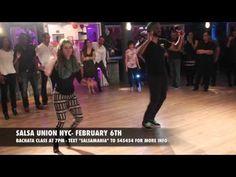 Salsa Union NYC February 6th Bachata Class