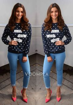 How to wear casual outfits chic heels ideas for 2019 Heels Outfits, Skirt Outfits, Chic Outfits, Fashion Outfits, Fashion Heels, Dresses For Teens, Trendy Dresses, Tight Dresses, Alia Bhatt Cute