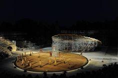 Prometeo Liberato, fondazione INDA - Teatro Greco di Siracusa Scene di Rem Koolhaas, Studio OMA
