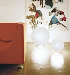 Lumen Center IceGlobe Giant 02/L 02/MAXI 02/GIANT 02 Table Lamp