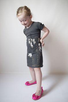 mini tee-dress refashion