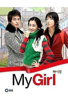 My Girl <3 Lee Da Hae as Joo Yoo Rin, Lee Dong Wook as Seol Gong Chan, Lee Jun Ki as Seo Jung Woo.