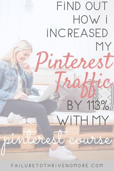 You can find out how I increased my Pinterest Traffic by 113% in my brand new Pinterest Course valued at only $10! Such a steal! #pinterestmarketing #pinterest #blogging #blogtips #pinterestcourse #marketing #increaseblogtraffic  #virtualassistant Social Media Tips, Social Media Marketing, Marketing Strategies, Pinterest For Business, Online Entrepreneur, Facebook, Instagram Tips, Blogging For Beginners, Make Money Blogging