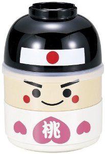Japanese Bento Lunch BOX Hakoya Momotaro Kawaii 50623 by Hakoya: Amazon.co.uk: Kitchen & Home