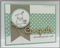I used Made with Love for the Create with Connie and Mary Saturday Blog Hop featuring Mint Macaron In color.  Stop by and take the hop!  Stampin' Up!, #stampinup, created by Connie Babbert, www.inkspiredtreasures.com